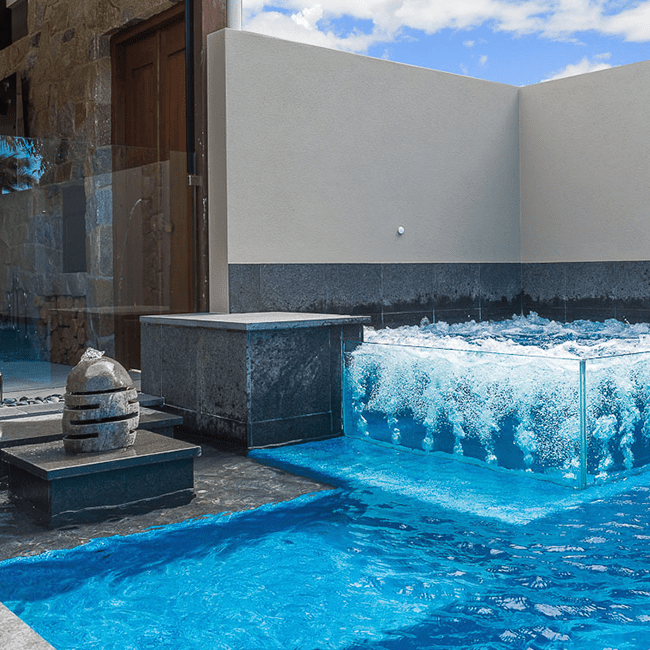 Stunning Poolside Features